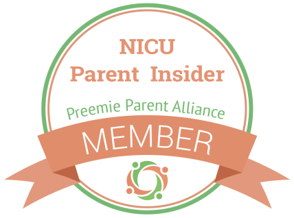 NICU Parent Insider Badge